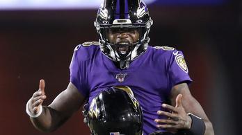 Észbontó, amit a Ravens irányítója művel az NFL-ben