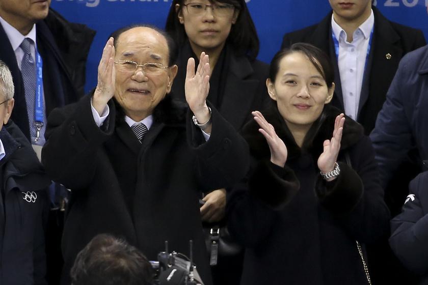 Kim Jodzsong a téli olimpián 2018-ban.