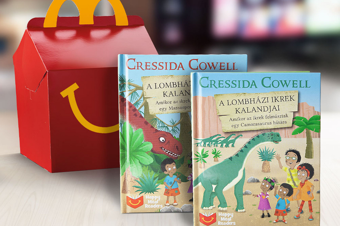 McDonalds HappyMeal reader