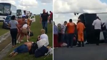 Baleset ért egy orosz turistákat szállító buszt a Dominikai Köztársaságban