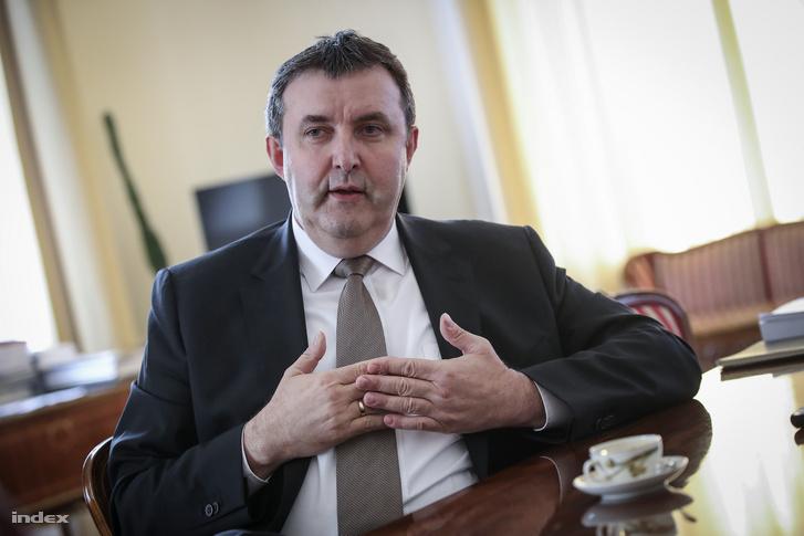 Palkovics László, az NTT testület vezetője