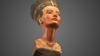 Nefertiti büsztje végre 3D-ben csodálható a neten, hosszas csatározás után