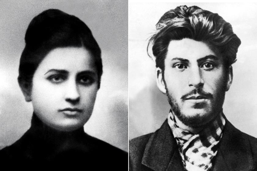Jekatyerina Szvanidze és Sztálin