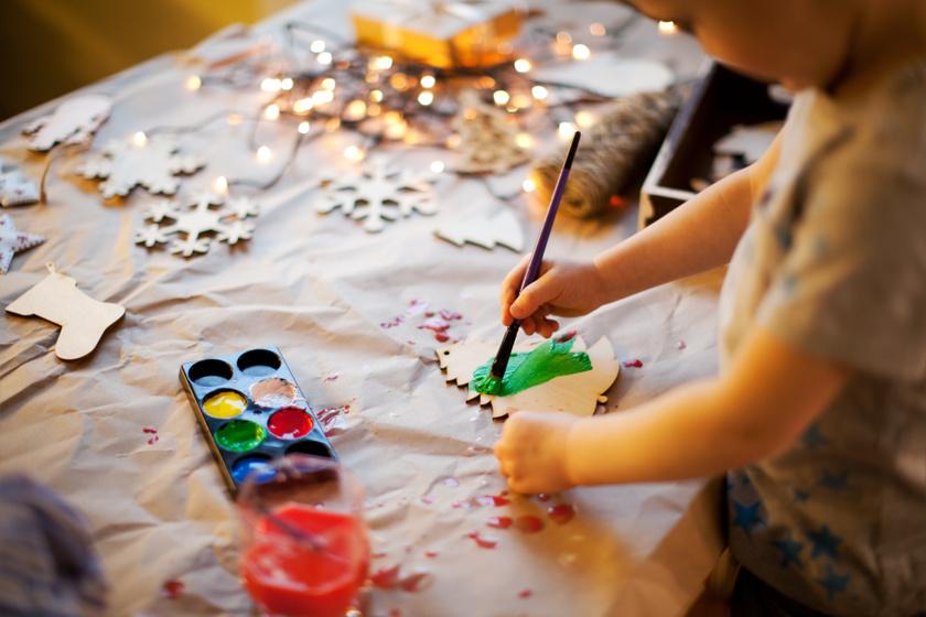 ajándékkészítés gyerekprogram