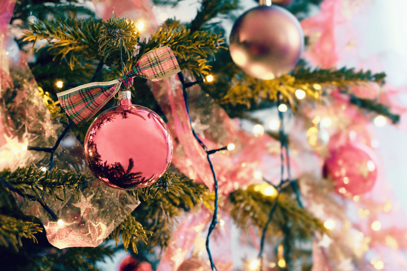 Csodás, pasztellszínű dekoráció, ha unod a zöldet, a pirosat és az aranyat