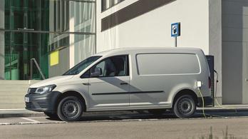 Megmutatták az Abt elektromos VW Caddyjét
