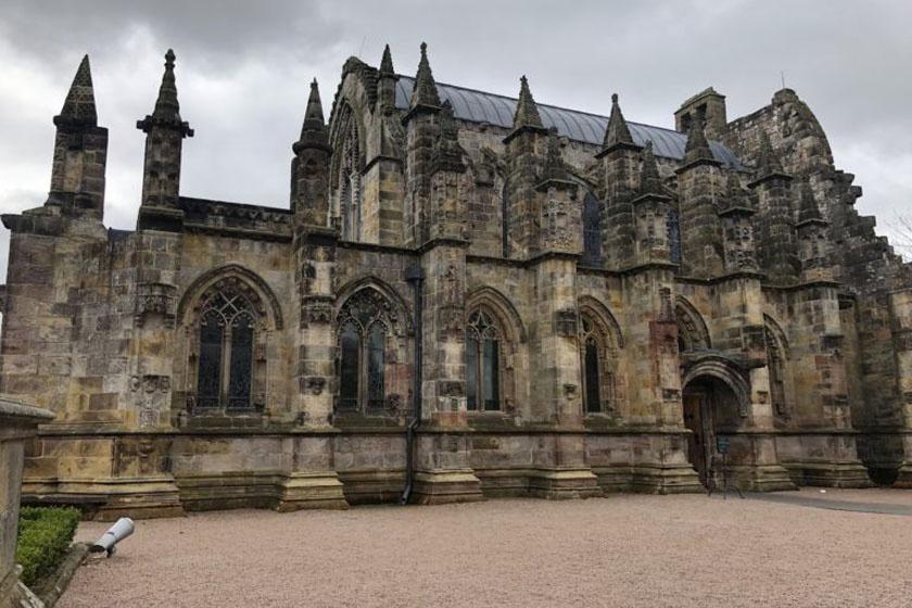 A Rosslyn-kápolna.