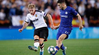 Beadásnak indult, a meccs gólját lőtte a Valencia dán hátvédje