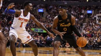 NBA-rekorddal folytatta menetelését a címvédő Raptors