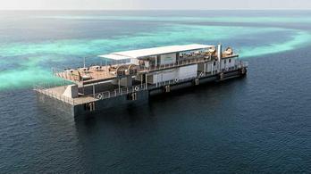 Elkészült az első víz alatti szálloda a Nagy-korallzátonynál