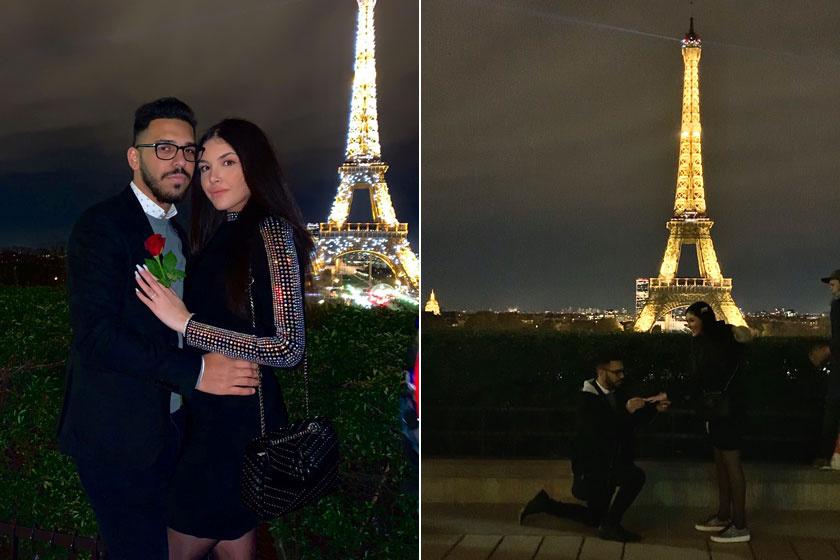 Bangó Margit 2019. november 27-én osztotta meg a Facebook-oldalán az örömhírt: kicsi Tinát az Eiffel-toronynál eljegyezte párja, Norbi.