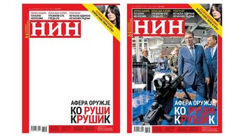 Címlapfotó nélkül jelent meg egy szerb ellenzéki lap