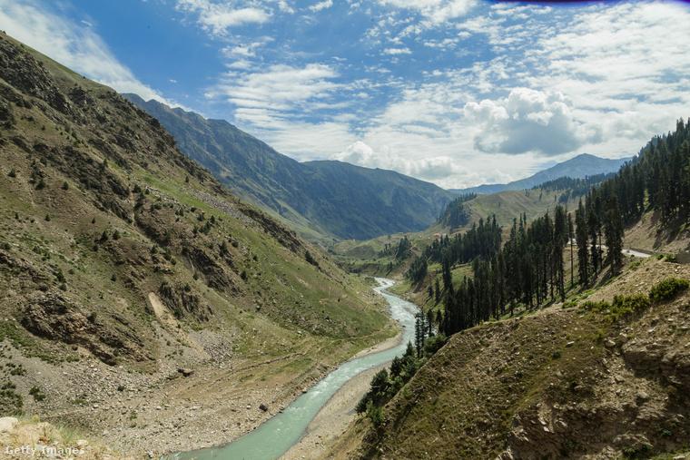 Kaghan-völgy, PakisztánA Kaghan-völgy népszerű himalájai úti cél a helyi túrázók körében
