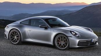 Hibrid Porsche 911-es készül