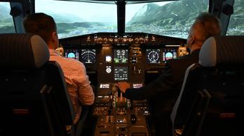 Kispestig zarándokol, aki komolyan pilóta szeretne lenni