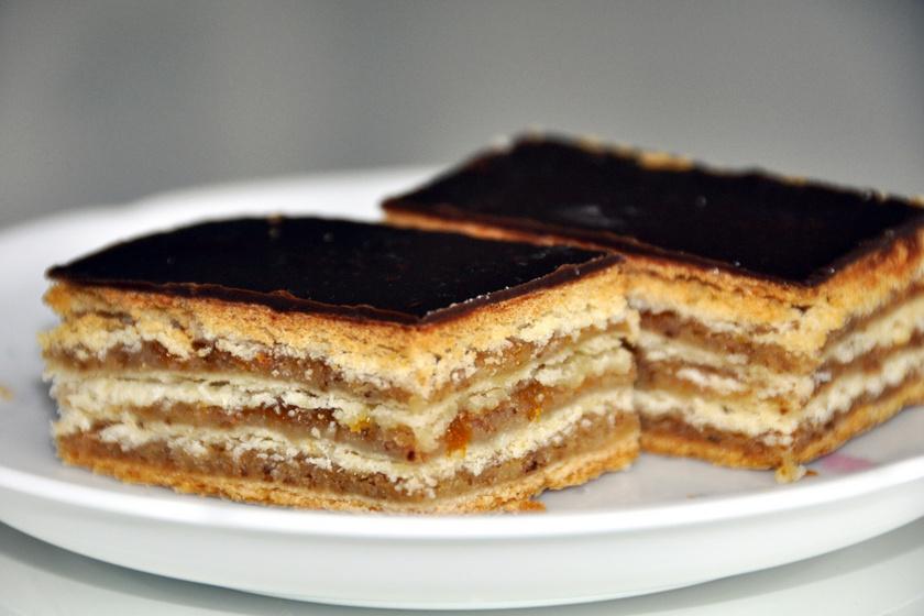 A hagyományos zserbó receptje: mint a nagyié, pont olyan finom