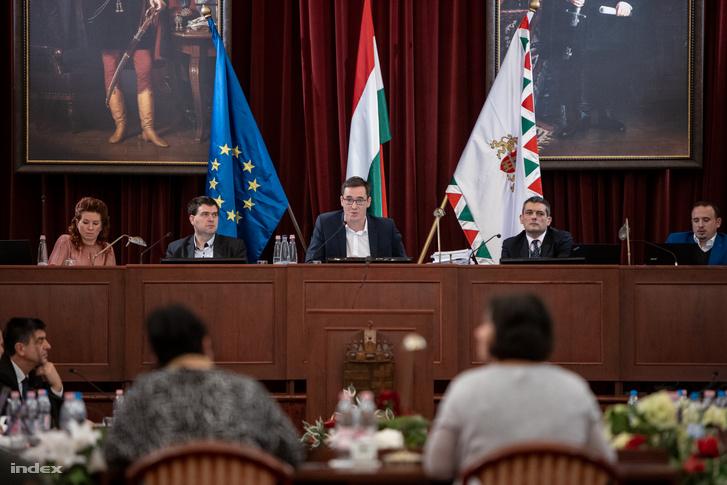 Fővárosi Közgyűlés szerdai ülése