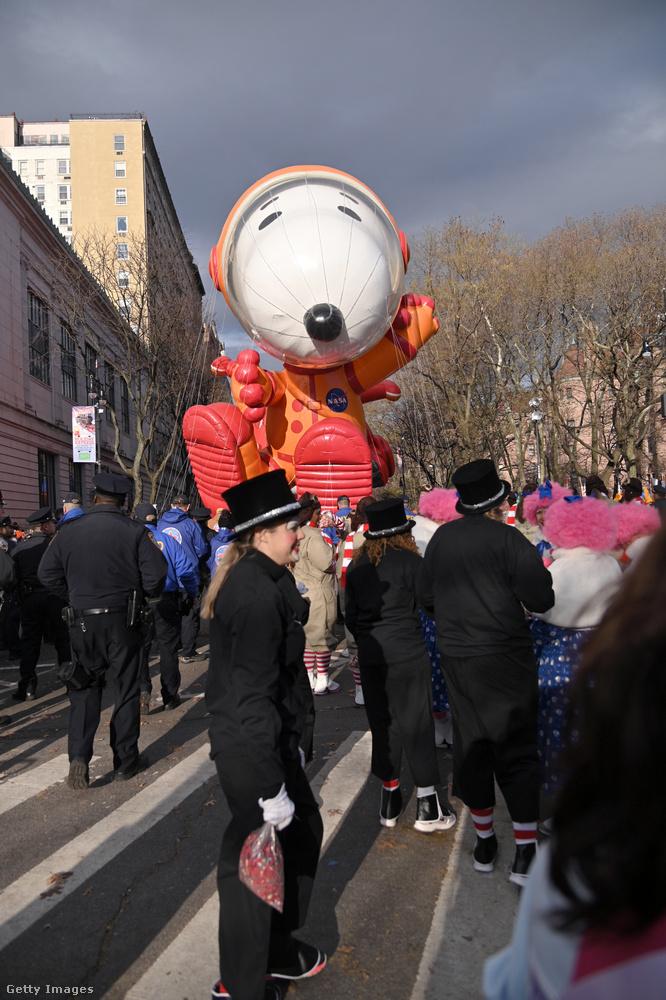 Ez a csütörtök a hálaadás ünnepe volt az USA-ban, amely alkalomból a Macy's nagyáruház minden évben felvonulást rendez