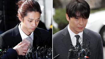 Tömeges szexuális erőszakért ítéltek el két K-pop sztárt