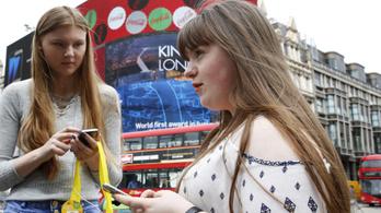 A fiatalok negyede pánikba esik, ha elveszik a mobiltelefonját