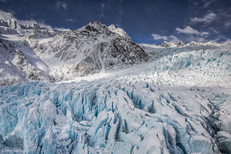 Meglepő, de a messzi-messzi Új-Zéland egyik legimpozánsabb gleccserét az osztrák császárról, Ferenc Józsefről nevezték el
