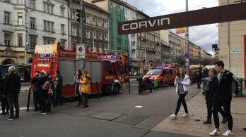 Halálos metrógázolás a Corvin-negyednél
