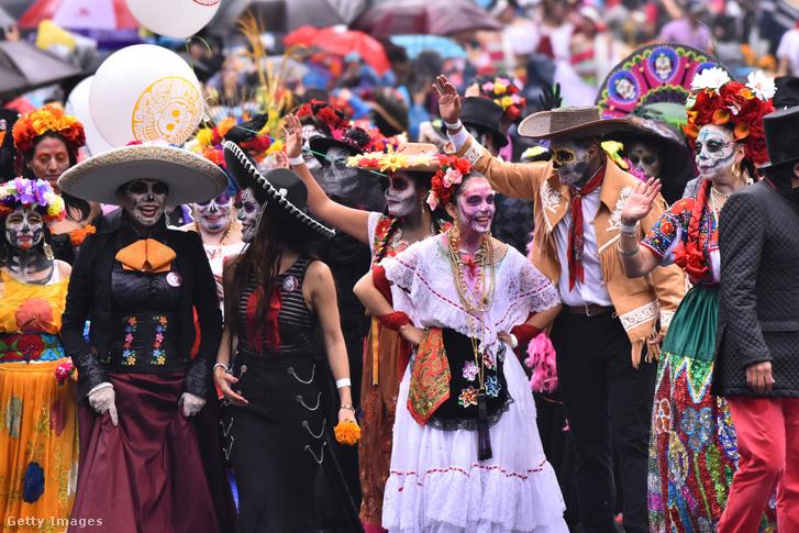 A 2019-es parádé Mexikóvárosban