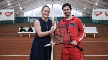 Egy világbajnok seperc alatt megtanít teniszezni