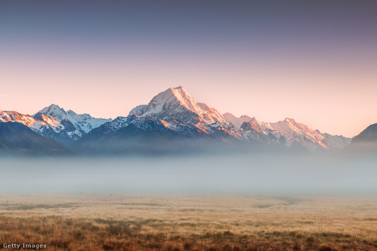 A Cook-hegy vagy Aoraki Új-Zéland legmagasabb hegye