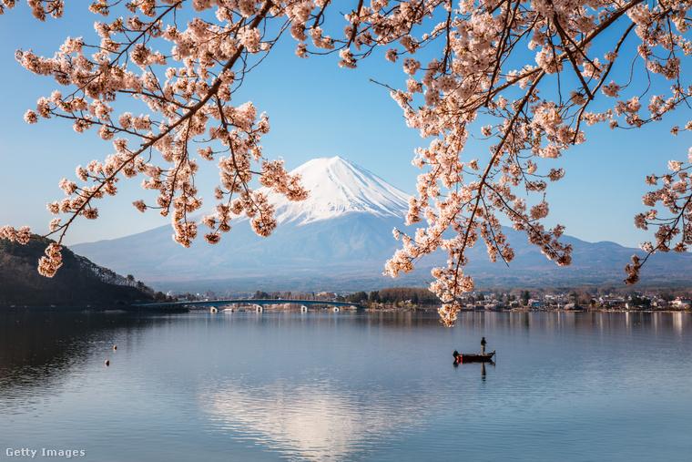 A Fudzsi Japán legmagasabb hegye, az ország egyik szimbóluma, ezért sokszor kap helyet képzőművészeti alkotásokon
