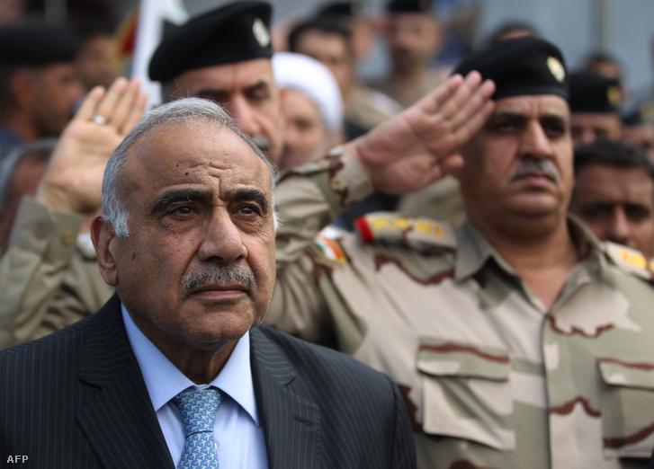 Ádil Abdel Mahdi miniszterelnök