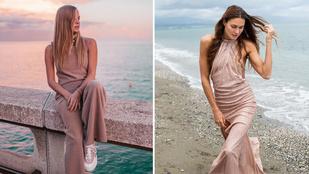 Ez a négy magyar híresség novemberben is tengerpartról posztolta a csinos-dögös szetteket