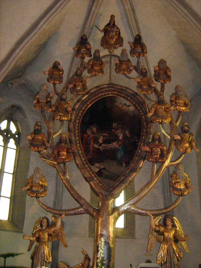 jesse-jessze-fa-oltar