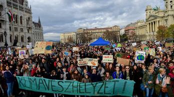 A teljes élő közvetítésünk a IV. Globális Klímasztrájkról