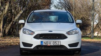 Használtteszt: Ford Focus 1.6 TDCi DPF Ambiente - 2015.