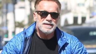 Schwarzenegger szivaros, véres videót posztolt