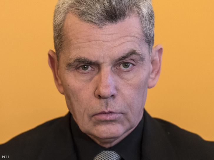 Éger István 2017 novemberében