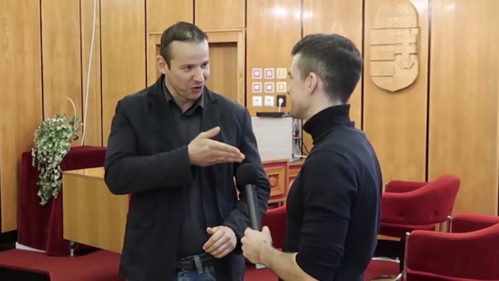 Toroczkai László Sellner videójában