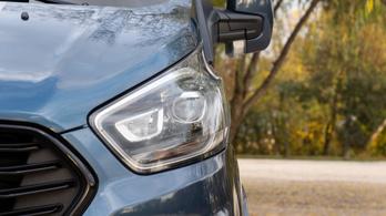 Teszt: Ford Tourneo Custom Sport - 2019.
