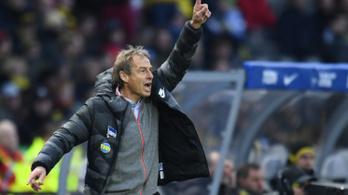 Klinsmann sem segített a Herthán, 5 vereség zsinórban