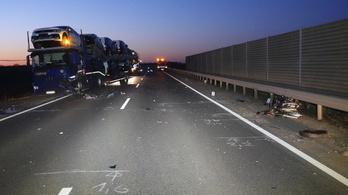 Halálos baleset a 445-ös úton Kecskemétnél