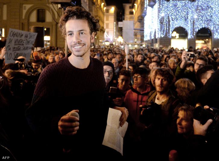 Mattia Santori, a Hering mozgalom egyik alapítója.