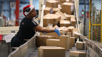 Rekordot döntött az online vásárlás Amerikában a Black Fridayen