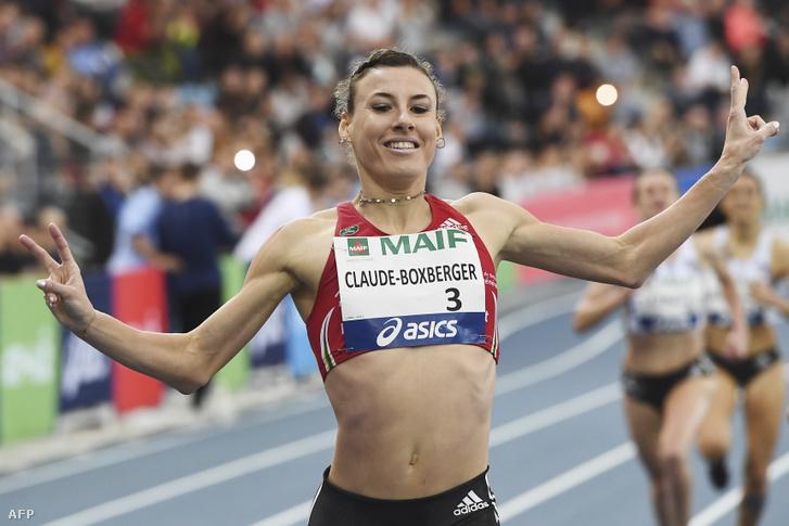 Ophélie Claude-Boxberger a 2019-es francia bajnokság 1500 méteres döntőjében