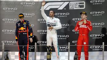 Nagy Schumacher-rekorddal zárta az évet Hamilton