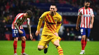 Messi–Suárez-összjáték gyűrte le az Atléticót