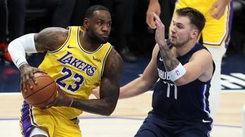 10 meccs után megállította a Lakerst a szlovén zseni csapata