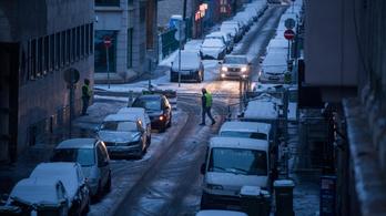 A hajnali havazással a balesetek is megérkeztek