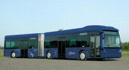 Így nézhetnek ki majd az átfestés után a Van Hool buszok