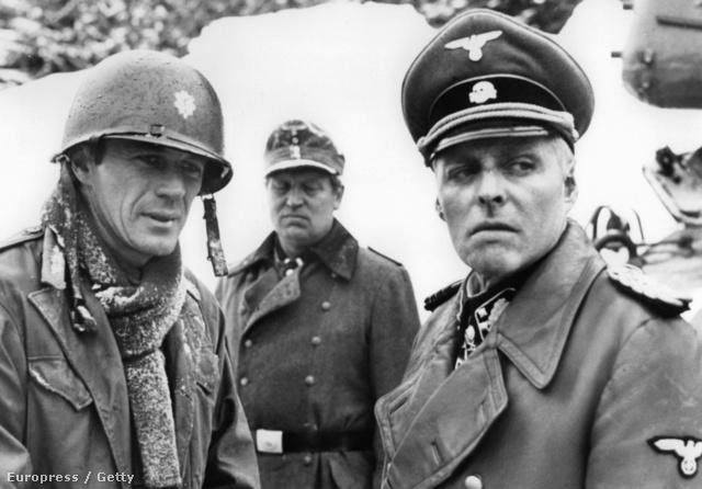 Náci tábornokként a Formula című háborús filmben